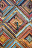 Kaleidoscopic door Stock Images