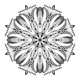 Kaleidoscopic Floral Pattern. Mandala. Stock Photography
