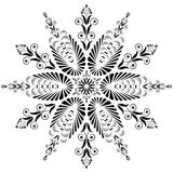 Kaleidoscopic floral pattern. Mandala Stock Images
