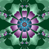 Kaleidoscopic Flower Royalty Free Stock Images