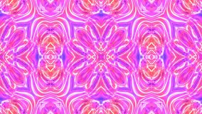 Kaleidoscopic generated seamless loop stock video