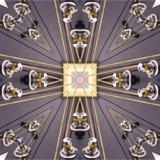 kaleidoscopic gitarr Royaltyfri Fotografi