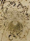 Kaleidoscopic Handwriting Royalty Free Stock Photo