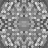 Kaleidoscopic low poly hexagon style vector mosaic. Background Royalty Free Stock Photo