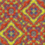Kaleidoscopic low poly rhomb style vector mosaic. Background Stock Images