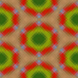 Kaleidoscopic low poly triangle style vector mosai Royalty Free Stock Photos