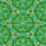 Kaleidoscopic low poly triangle style vector mosaic Royalty Free Stock Photos