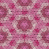 Kaleidoscopic low poly triangle style vector mosaic. Background Royalty Free Stock Photography