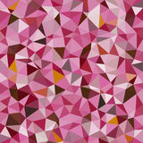 Kaleidoscopic low poly triangle style vector mosaic. Background Royalty Free Stock Photo
