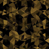Kaleidoscopic low poly triangle style vector mosaic. Background Royalty Free Stock Images