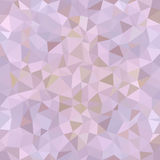 Kaleidoscopic low poly triangle style vector mosaic. Background Stock Image