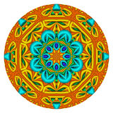 Kaleidoscopic Mandala Royalty Free Stock Images