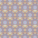 Kaleidoscopic moroccan seamless pattern royalty free stock photo