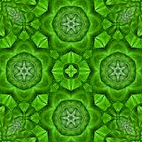 Kaleidoscopic mosaic green tile background. Kaleidoscopic mosaic green tile pattern Royalty Free Stock Images