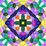 Kaleidoscopic mosaic seamless texture or background. Floral Kaleidoscopic mosaic seamless texture or background Royalty Free Stock Image