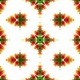 Kaleidoscopic mosaic seamless texture or background Stock Photos