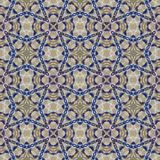 Kaleidoscopic mosaic seamless texture or background Royalty Free Stock Image