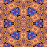 Kaleidoscopic mosaic seamless texture or background Royalty Free Stock Images