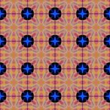 Kaleidoscopic mosaic seamless texture or background Royalty Free Stock Photography
