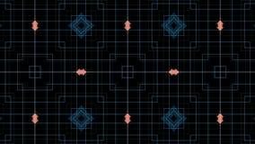 Kaleidoscopic movement and pattern stock video
