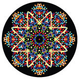 Kaleidoscopic ornament Royalty Free Stock Images