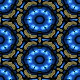 Kaleidoscopic ornamental pattern. Abstract background Royalty Free Stock Images