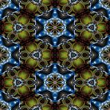 Kaleidoscopic ornamental pattern. Abstract background Stock Photos