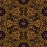 Kaleidoscopic ornamental pattern. Abstract background Stock Photography