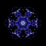 Kaleidoscopic ornamental pattern. Abstract background Royalty Free Stock Photography
