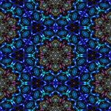 Kaleidoscopic ornamental pattern. Background tile vector illustration