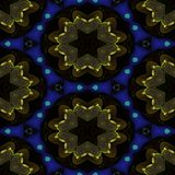 Kaleidoscopic ornamental pattern. Background tile Stock Images