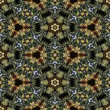 Kaleidoscopic ornamental pattern. Texture or background Stock Image