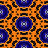 Kaleidoscopic ornamental pattern. Texture or background Stock Images