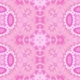 Kaleidoscopic ornate background. Seamless pattern in pink Royalty Free Stock Photos