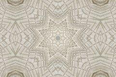 Kaleidoscopic pattern of linen napkins Stock Photos