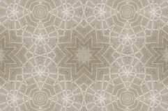 Kaleidoscopic pattern of linen tablecloths Stock Photos
