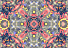 Kaleidoscopic pattern  texture Royalty Free Stock Photo