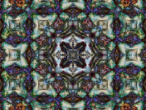 Kaleidoscopic pattern  texture Stock Photos