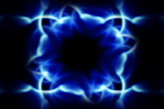 Kaleidoscopic pattern stock video