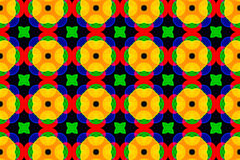 Kaleidoscopic patterns of colored blur Royalty Free Stock Image