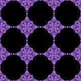 Kaleidoscopic purple flower background. Splited colorful  photo into tiles. Kaleidoscopic purple flower background. Splited colorful  picture into tiles Stock Images