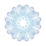 Kaleidoscopic round pattern Royalty Free Stock Photos