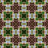 Kaleidoscopic seamless generated texture Stock Images