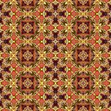 Kaleidoscopic seamless generated texture Royalty Free Stock Photography