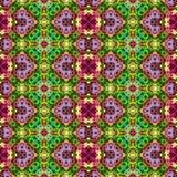 Kaleidoscopic seamless generated texture Stock Photography