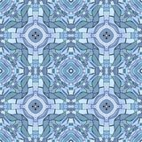 Kaleidoscopic seamless generated texture Royalty Free Stock Image