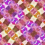 Kaleidoscopic seamless pattern. Abstract background Royalty Free Stock Images