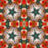 Kaleidoscopic seamless pattern. Royalty Free Stock Photography