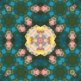 Kaleidoscopic seamless pattern. Royalty Free Stock Image