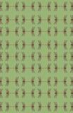 kaleidoscopic slända Arkivbild
